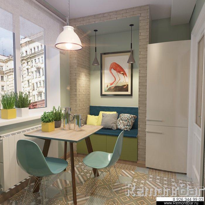 Дизайн интерьера этой 3-х комнатной квартиры был разработан нашим дизайнером Лилией Отроковой для наших заказчиков из Бибирево