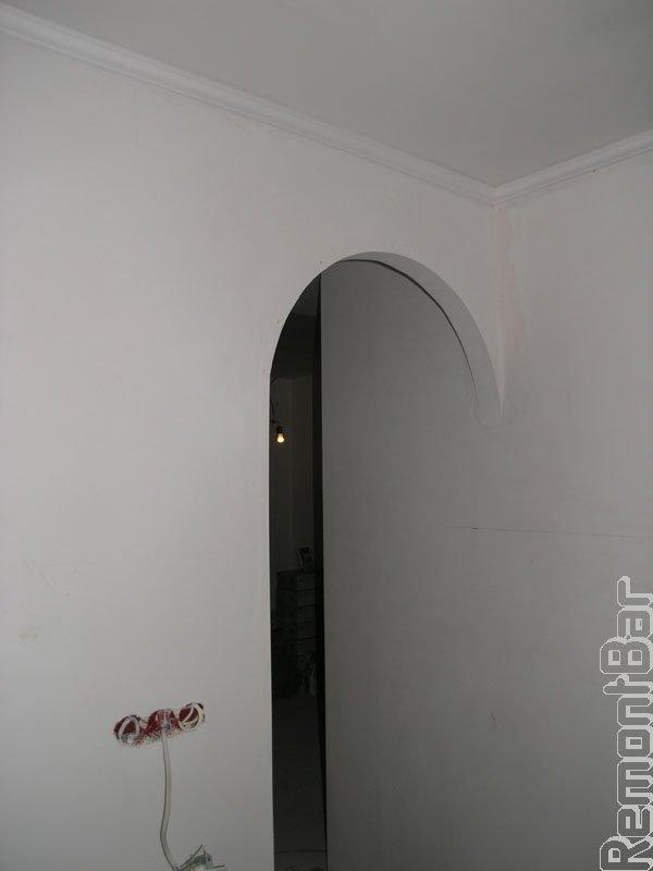 Подготавливаем стену под поклейку обоев, 2 слоя шпатлевки, шлифовка, Новопеределкино