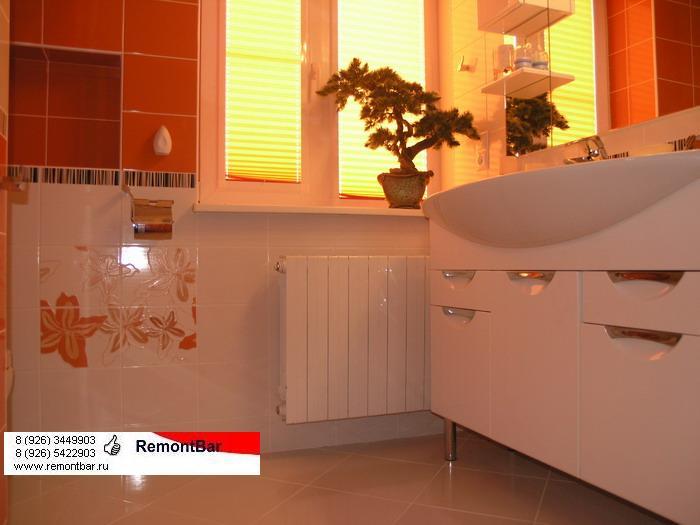 Фото ванной комнаты в коттедже в Железнодорожном