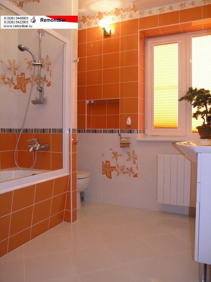 Ванная комната в частном доме в Железнодорожном