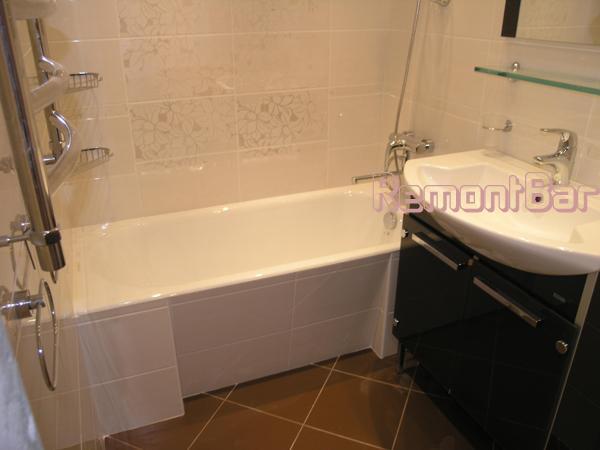 Ремонт ванной комнаты в панельном доме своими руками фото
