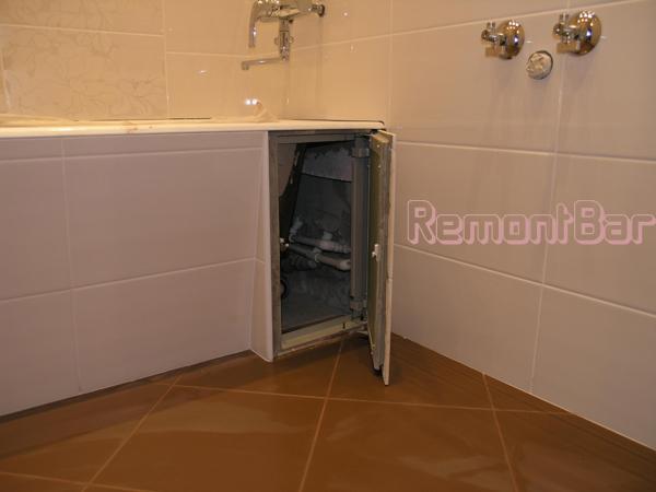 люк в ванну под плитку