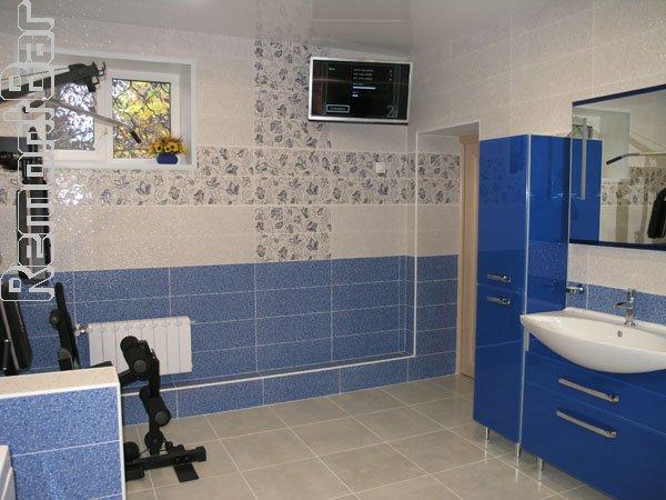 Ванная комната в поселке Вишняковские дачи